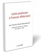 Lettre postume à François Mitterrand